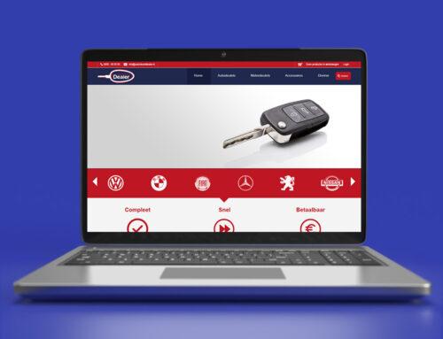 Autosleutel Dealer Webdesign Voorstel