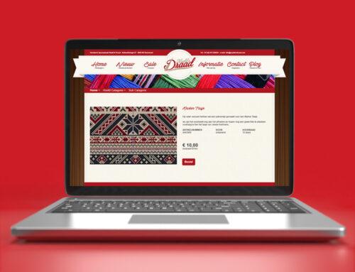 Naald & Draad Webdesign Voorstel