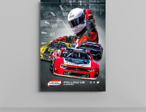 V8 Oval Series Posters