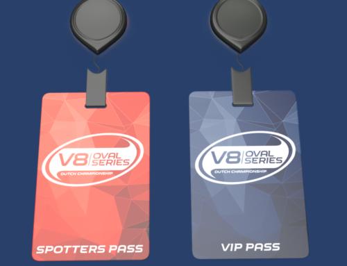 VIP En Spotters Kaarten V8 Oval Series