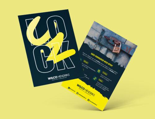 UNLOCK flyers ter promotie